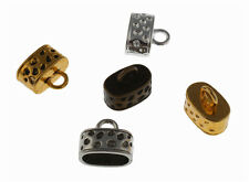 NEW Vintage End Bead Caps  Fit 12*7mm Leather Cord DIY Jewelry Findings 30Pcs