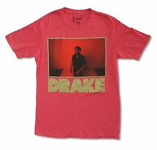 """DRAKE """"RED PHOTO"""" HEATHER RED T-SHIRT NEW OFFICIAL ADULT RAP MUSIC"""