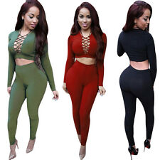 Sexy Out Wrist Bodycon Long Sleeve Bodysuit Night Club Rompers Womens Jumpsuit