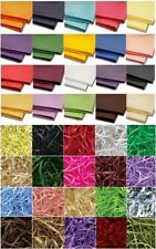 ACID FREE LUXURY WRAPPING TISSUE PAPER - 18gsm SHEETS & FINE CUT SHREDDED