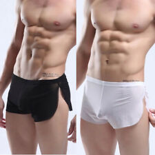 Hot Sale Mens Sexy See Through Mesh Boxers Shorts Briefs Summer Bikini Underwear