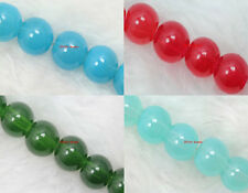 Wholesale Lots beautiful glass bead Round Spacer Loose Beads 6mm/8mm (4color)