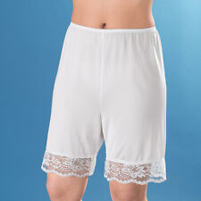 "Lace Pettipants - Shorts Slip - 14"" Long"