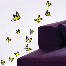 21pc Colour Mixed Size Butterfly Wall Stickers Wall Decals Nursery Kid Stickers