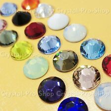 34ss Genuine Swarovski Hotfix Iron On Rhinestone nail Crystal 7.2mm ss34 setHC