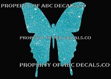 VRS BUTTERFLY MONARCH SMOOTH cutout CAR WINDOW STICKER METAL WALL DECAL