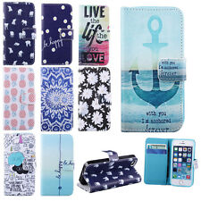 Deluxe For Apple iPhone 5G 5S Flip Leather Wallet Soft Card Hold Skin Case Cover