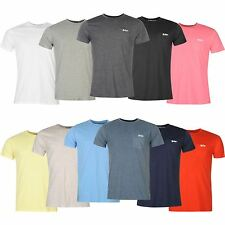 Lee Cooper Mens Essentials Pocket Crew Neck T Shirt Short Sleeve Tee Top