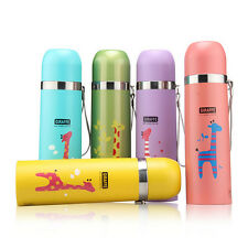 Newly Kids Thermal Water Bottle Drinks Cup Lovely Animal Travel Insulated Mug