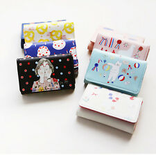 With Alice RIM Card Pocket Case Holder Credit Name Card Cute Mini Wallet Purse