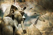 Egyptian God Fantasy Art Large Canvas Picture Wall Art