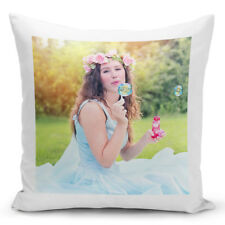 PERSONALISED LUXURY CUSHION COVER YOUR IMAGE PHOTO LOGO TEXT FATHER'S DAY GIFTS
