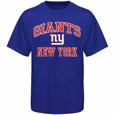 NEW YORK GIANTS Heart and Soul III T-Shirt - Blue - FREE SHIPPING