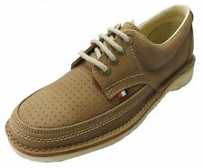 Pod Heritage Camel Gallagher Retro Mod leather Shoes