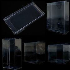 20Pcs Clear Plastic PVC Weddings Party Favours Gift Packaging Boxes Size Choice