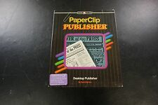 Paper Clip Publisher for Commodore 64 and 128 Manuals Only