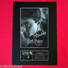 DANIEL RADCLIFFE harry potter Mounted Signed Reproduction Autograph Print A4 134