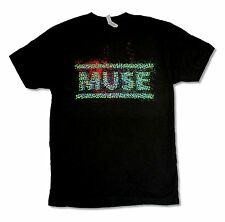 "MUSE ""EXPLODE TOUR 13"" BLACK T-SHIRT NEW OFFICIAL ADULT BAND MUSIC REAPERS"