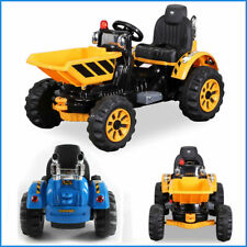 KIDS RIDE ON TIPPING DUMPER TRUCK TRACTOR CHILDREN ELECTRIC  12V BATTERY TOY CAR