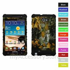 For Samsung Galaxy Note 1 Camo Hybrid Hard&Rubber Rugged Armor Phone Case Cover