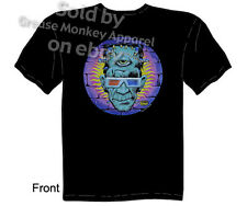 Kustom Kulture Frankenstein T-shirt, God of 3D Tattoo Tee, Sz M L XL 2XL 3XL New
