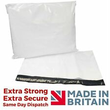 White Strong Plastic postal Mailing Bags With Self seal