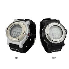 Water-resistant Sports Watch Exercise Calorie Counter Heart Rate Monitor D8P4