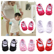 N Kids Rose Flower Baby Shoes Soft Sole Toddler Anti-Slip Sandal Shoes 3-12M