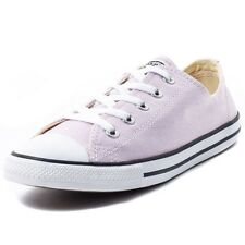 Converse Chuck Taylor All Star Dainty Ox Womens Trainers Light Purple New Shoes