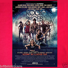 ROCK OF AGES 9 CAST SIGNED AUTOGRAPH MOVIE POSTER QUALITY PRINT A3 or A2 Size