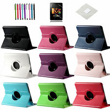"360 Rotating PU Leather Case Cover w/ Stand For Amazon Kindle Fire HD  8.9"" 2012"