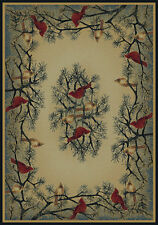 Hautman Brothers Rugs Hautman Cardinal In Pine Beige/Blue Area Rug