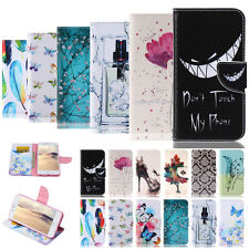 -TX Painted Wallet Leather Case Cover For Apple iPhone 6S Plus 5S 5C 4 Touch 6 5