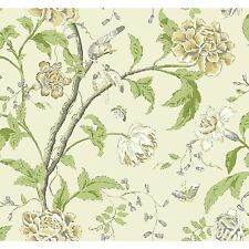 """Carey Lind Vibe Teahouse 27' x 27"""" Floral and Botanical Wallpaper"""