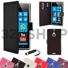 WALLET PU LEATHER CASE COVER FOR Nokia Lumia 1520 FREE SCREEN PROTECTOR
