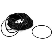 Rubber 50mm x 46mm x 2mm Oil Seal O Rings Gaskets Washers Black 50pcs