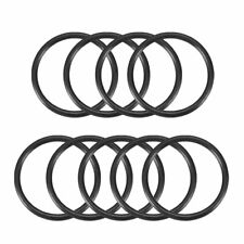 Rubber 39mm x 30mm x 3mm Oil Seal O Rings Gaskets Washers Black 9 Pcs