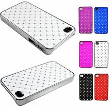 Beautiful Bling Skin Phone Crystal Hard Cover Case For Apple iPhone 4 4S 4G