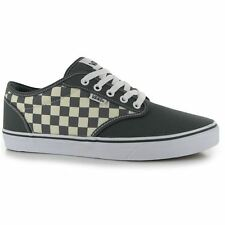 Vans Mens Atwood Checkers Lace Up Casual Trainers Canvas Flats Shoes Sneakers