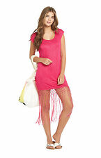 Resort Fringe Jersey Cover Up