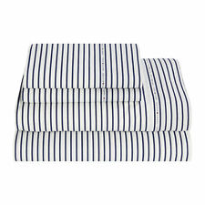 Tommy Hilfiger Signature 200 Thread Count Stripe Print Sheet Set