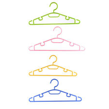 5pcs Plastic Space Saving Non-Slip Household Clothes Clothing Hanger