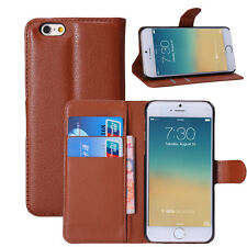 Luxury Leather Magnetic Flip Wallet Case Card Holder Cover For Apple iPhone 6