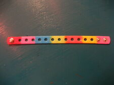 Wristband For Jibbitz & Shoe Charms. 4 Colours To Choose From. Free UK P&P.