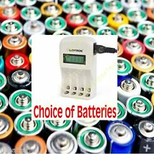 LLOYTRON 1 hour Fast LCD Battery Charger   AA or AAA ENERGIZER DURACELL GP