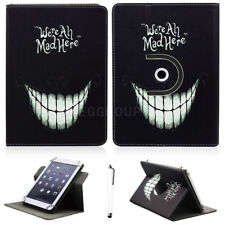 """360° Rotating Stand PU Leather Case Cover For Most 7"""" 7.9"""" Tablet PC+Stylus Gift"""