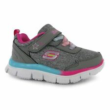 Skechers Kids Girls Appeal Lil Flyer Infants Shoes Runners Trainers Lace Up