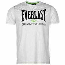 Everlast Mens Geo T Shirt Short Sleeve Crew Neck Tee Top Clothing