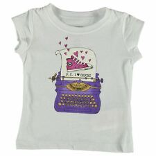 Converse Kids Girls 65B Short Sleeve Baby Crew Neck Clothing