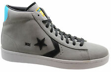 Converse Pro Leather Plus Mid Mens Trainers Grey 134767C D19